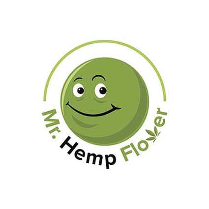 Mr Hemp Sticker Logo