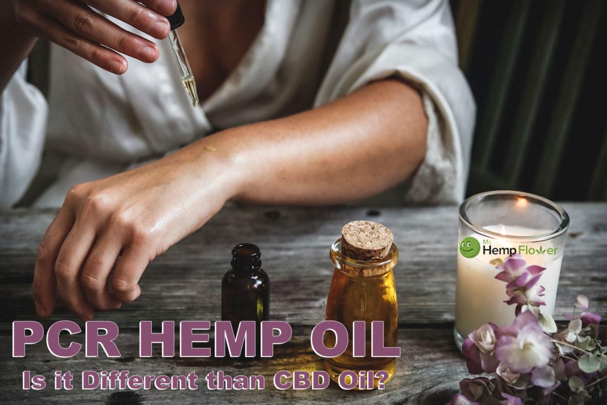 High Quality PCR hemp oil