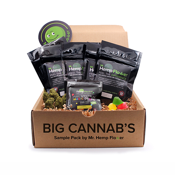 Mr Hemp Flower High Cannabinoid Bundle - 3.5 gram