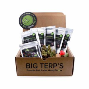 Mr Hemp Flower Terpene Sample Pack