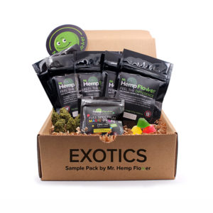 Exotic Hemp Flower Bundle - 3.5 gram - Mr Hemp Flower