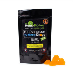CBN gummies orange flavor