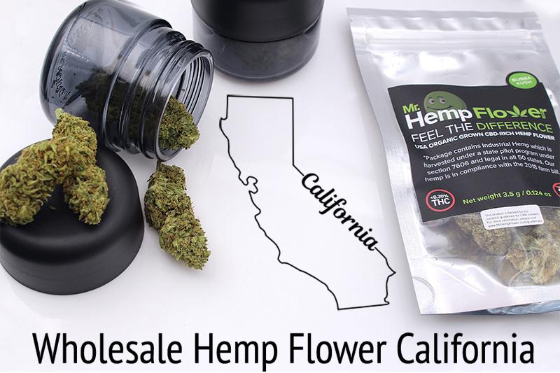 Wholesale Hemp Flower California