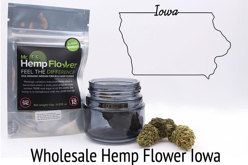 Wholesale Hemp Flower in Iowa