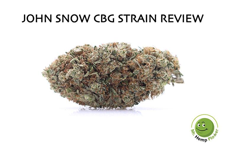 john snow Hemp Strain Review