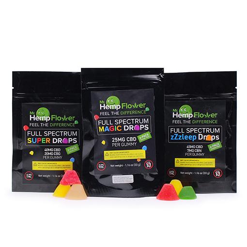 6 pack gummy bundle
