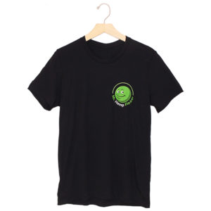 Front Black T Shirt