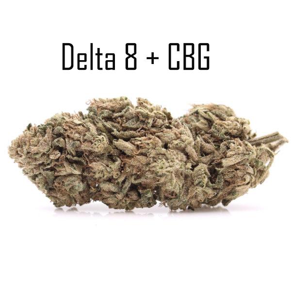 Delta 8 CBG Silver Haze