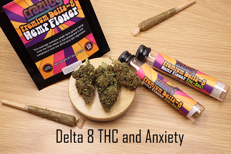 Delta 8 THC For Anxiety
