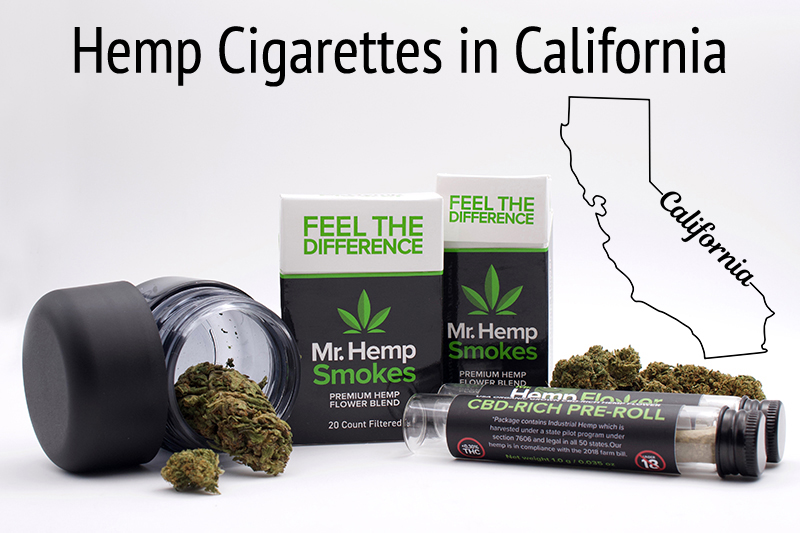 Hemp Cigarettes in California