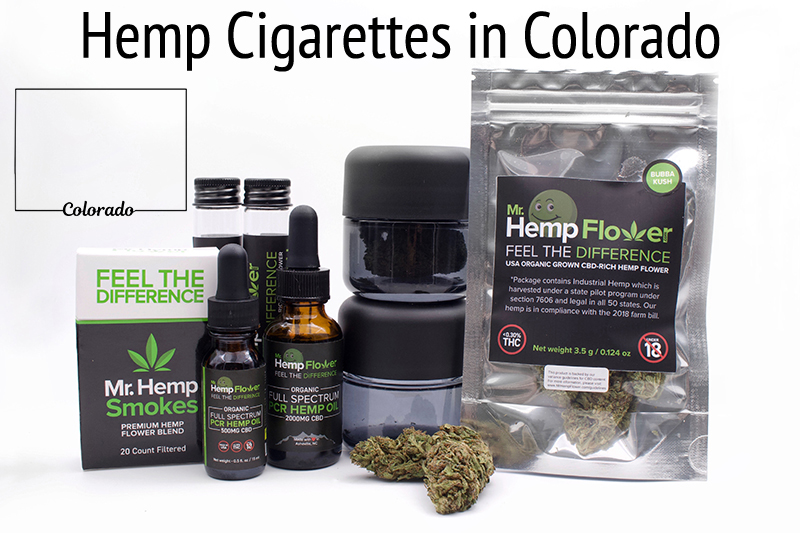 Hemp Cigarettes in Colorado