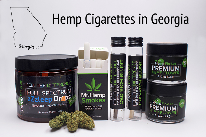 Hemp Cigarettes in Georgia