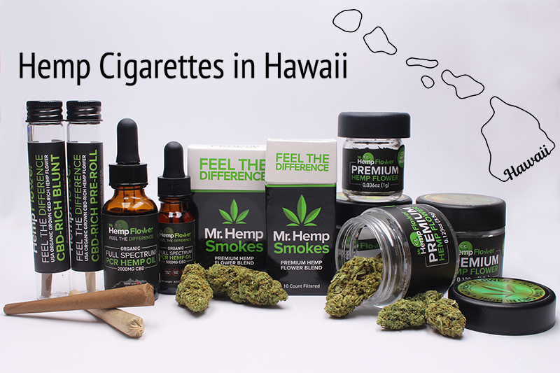 Hemp Cigarettes in Hawaii
