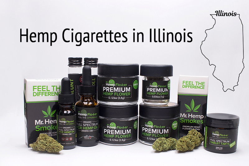 Hemp Cigarettes in Illinois