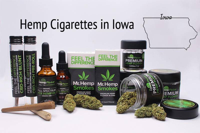 Hemp Cigarettes in Iowa
