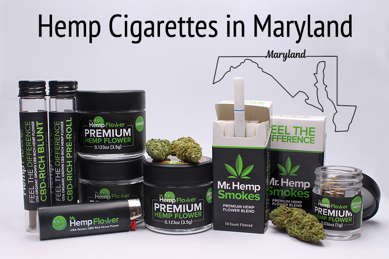 Hemp Cigarettes in Maryland