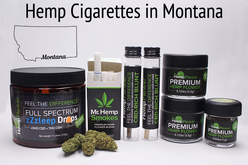 Hemp Cigarettes in Montana