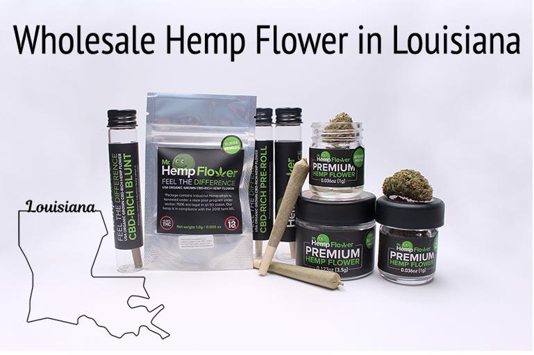 Wholesale Hemp Flower in Louisiana