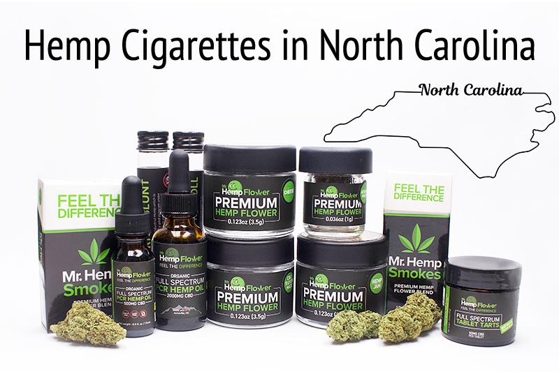 Hemp Cigarettes in North Carolina