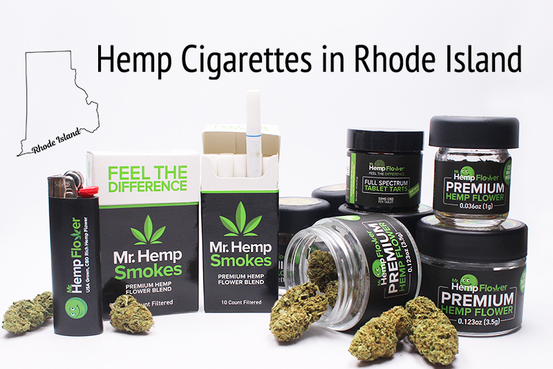 Hemp Cigarettes in Rhode Island