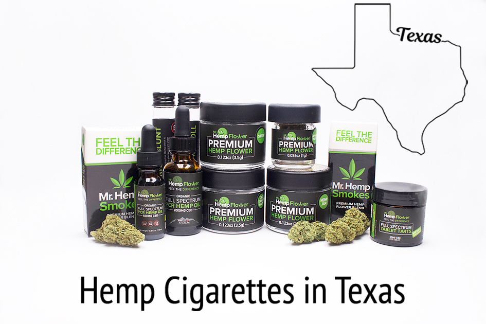 Hemp Cigarettes in Texas