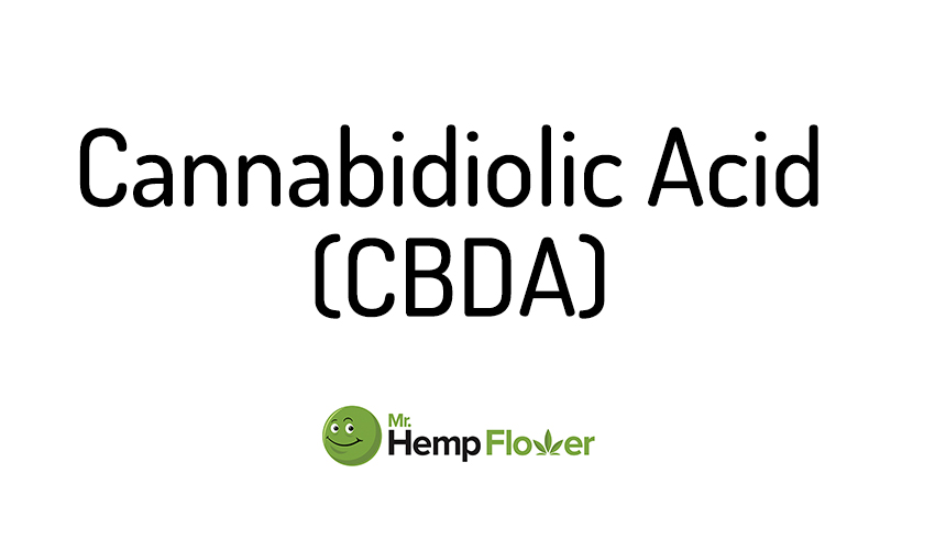 Cannabidiolic Acid