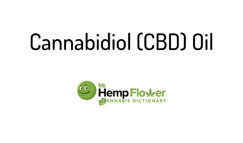 Cannabidiol CBD Oil